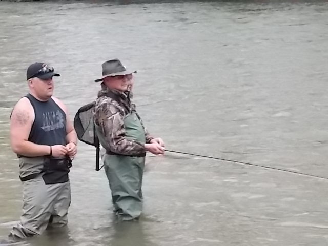Project Wounded Warriors Fishing